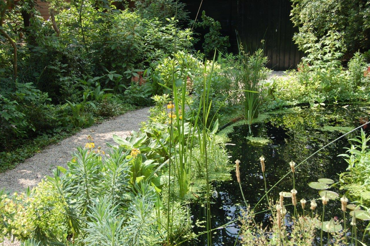 Engelse Landschapsstijl Tuin : Tuin in engelse landschapsstijl bij een herenhuis in rotterdam